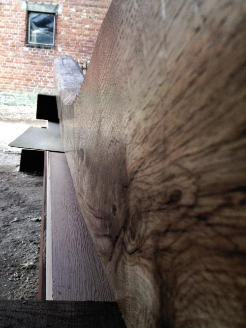 handplaned surface